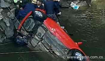 Rescataron sin vida a dos niñas que cayeron al río Fonce, en San Gil - W Radio