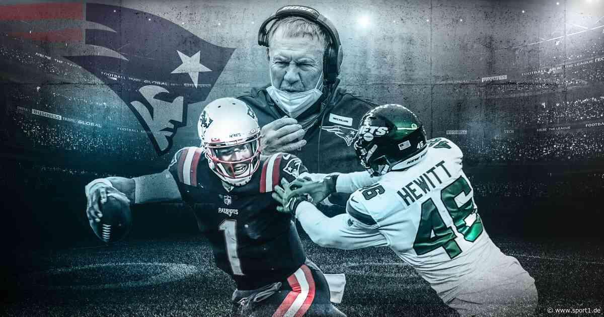 NFL: New England Patriots um Quarterback Cam Newton vor Absturz? - SPORT1