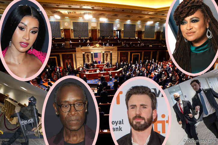 'A Sad Day For America': Celebs React To Storming Of The Capitol