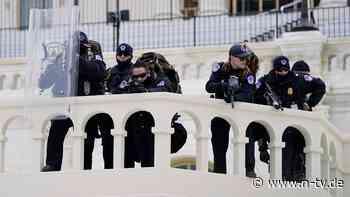 Angeschossene Frau ist tot: Polizei sichert US-Kapitol nach Unruhen