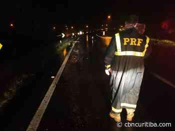 Homem morre atropelado por carreta em Campina Grande do Sul - CBN