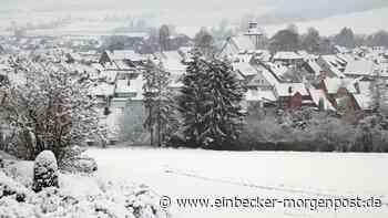 Zu Beginn des neuen Jahres legt Dassel das weiße Winterkleid an - Einbecker Morgenpost