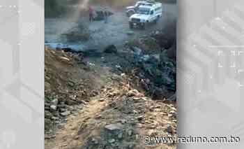 Bloqueadores no dejaron pasar una ambulancia en Tarata - Red Uno de Bolivia