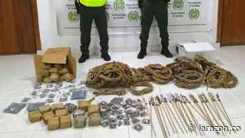 Policía incautó 1.600 unidades de pólvora en Montelíbano - LA RAZÓN.CO