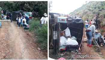 Una menor muerta y dos adultos heridos dejó un accidente en Betulia - Caracol Radio