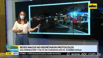 Reyes Magos no respetaron protocolos sobre la avenida Eusebio Ayala - ABC Noticias - ABC Color