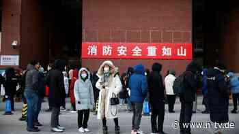 """""""Kriegszustand"""" ausgerufen: China kämpft mit neuem Corona-Ausbruch"""