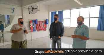 Jorge Macri recorrió las obras del Club Laprida de Villa Martelli - Grupo La Provincia