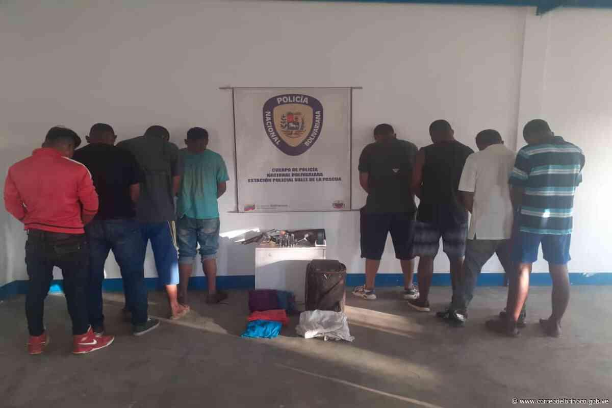 Guárico: PNB desarticuló grupo delictivo en Valle de la Pascua   - Correo del Orinoco