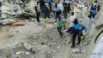 Hombre hallado muerto en botadero de basura en Latacunga - tvc.com.ec