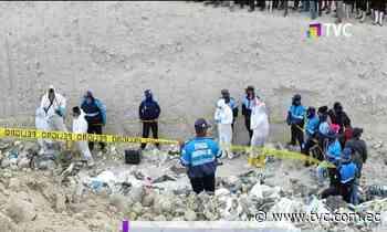Hombre fue hallado muerto en botadero de basura en Latacunga - tvc.com.ec