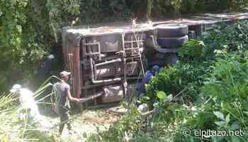 33 lesionados dejó vuelco de un Transmiranda entre Higuerote y Tacarigua - El Pitazo