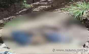 Encuentran en Mizque el cuerpo sin vida de Juan Vega - Red Uno