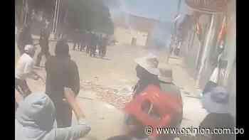 La violencia se impone en Mizque y padres denuncian ataque de mineros con dinamitas - Opinión Bolivia