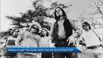 Petition to get 'The Guess Who' into Rock & Rock Hall of Fame