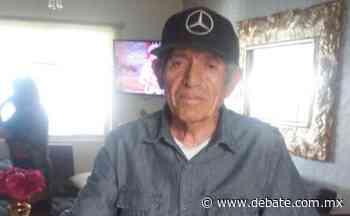 Anciano con Alzheimer se extravió en Culiacancito, Culiacan, familiares esperan su regreso - EL DEBATE