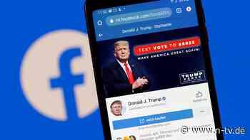 """Chef Zuckerberg meldet sich: Facebook sperrt Trump """"auf unbestimmte Zeit"""""""