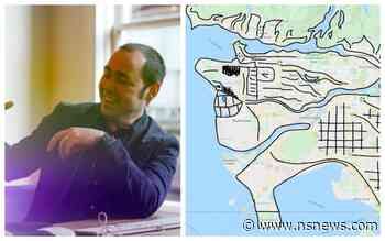 The man behind the map: Here's who drew that hilarious take on a Metro Vancouver map - North Shore News