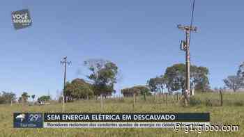 Quedas de energia constantes na zona rural de Descalvado geram prejuízos e preocupam moradores - G1