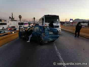 Falla origina un choque múltiple en puente de Ramos Arizpe - Vanguardia.com.mx