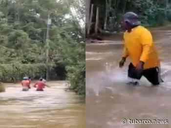 Desbordamiento del río Cauca sorprendió a la comunidad de Villa Paz en Jamundí, hay varios damnificados - TuBarco