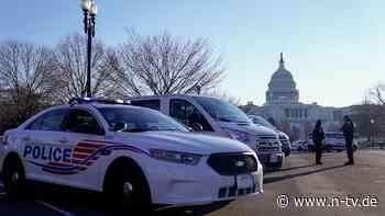 Breaking News: US-Polizist nach Kapitol-Stürmung gestorben