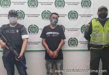 En Coyaima capturaron a un hombre de 40 años de edad por el delito de fuga de presos - Ecos del Combeima
