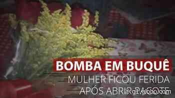 VÍDEO: Mulher recebe bomba escondida em buquê de flores em Francisco Morato, SP - G1
