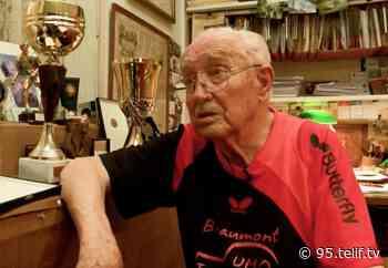 Beaumont-sur-Oise : Jean-Paul Boudeville, plus vieux pongiste de France est décédé - VOnews95