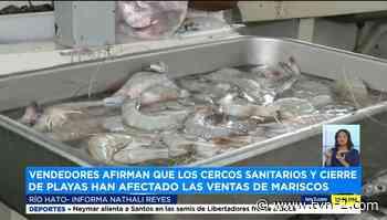 Bajas ventas en Mercado de Marisco en Río Hato - TVN Panamá