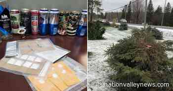 Tree-tops chopped; cocaine seized; charges after Chesterville pool damaged; an eventful December for the SD&G OPP - Nation Valley News