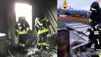 Incendi a Spilimbergo e San Giorgio della Richinvelda - Telefriuli