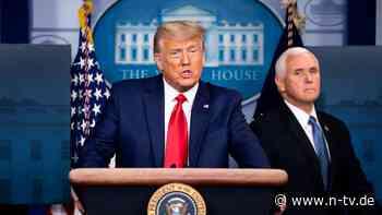 Mögliche Amtsenthebung: Pence wird Trumps Ende nicht beschleunigen