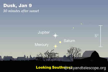 This Week's Sky at a Glance, January 8 – 16