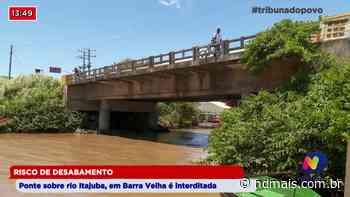 Risco de desabamento: Ponte sobre rio Itajuba, em Barra Velha, é interditada - ND - Notícias