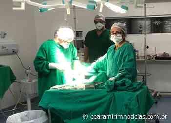 Hospital Regional de Pau dos Ferros recebe tomógrafo - Ceará-Mirim Notícias