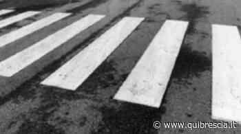 Sarezzo, anziana investita da un'auto mentre attraversa: è grave - QuiBrescia