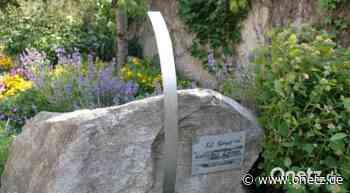 Granitstein in Schnaittenbach weist auf Längengrad hin - Onetz.de
