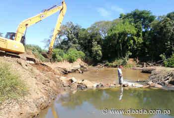 Inició el proyecto de represado en el río Parita - Día a día