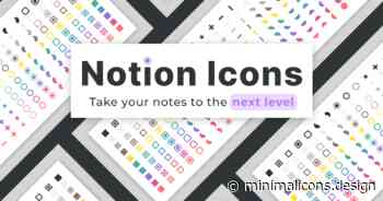 Minimal Notion Icons - Take your Notion notes to the Next Level