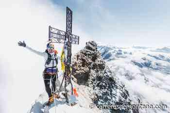 ASCENSION GRAN PARADISO: MARCA RÁPIDA FKT PARA FERNANDA MACIEL. Enlazó la ruta con la ascensión posterior al Matterhorn - Carrerasdemontana.com