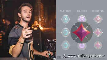 Popular DJ 'Zedd' Reaches Immortal Rank in Valorant - TalkEsport