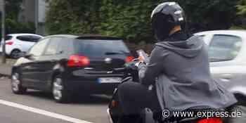 Köln: Autos beschädigt: Rollerfahrer flüchtet - EXPRESS