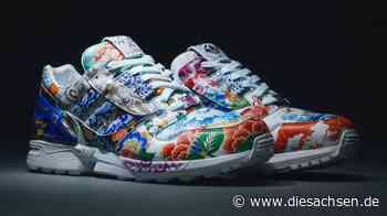 Dieser Adidas Sneaker kommt aus Meissen und soll versteigert werden - DieSachsen.de