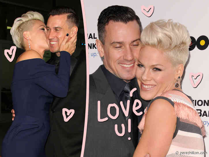 Pink Celebrates 15th Anniversary With Carey Hart: 'What A Wild Ride It's Been'