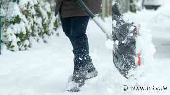 Knochenarbeit im Winter: Tipps für Schneeschipper und Straßenkehrer