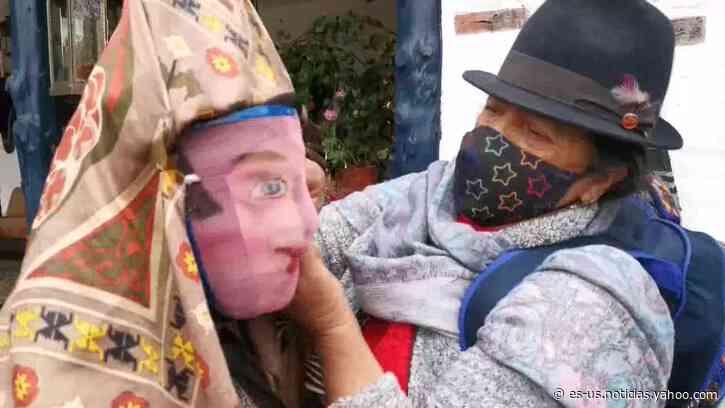 Los diablos de Píllaro bailan en vivo, en un desafío virtual a la pandemia - Yahoo Noticias