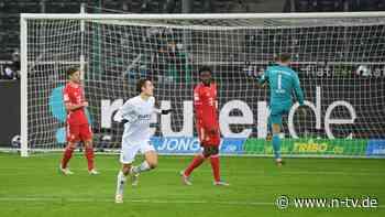 Fohlen drehen 0:2-Rückstand: Gladbach schockt anfällige Bayern dreifach