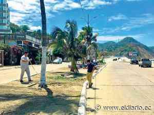 Bahía de Caráquez: Trabajan en la regeneración Bello Horizonte | El Diario Ecuador - El Diario Ecuador