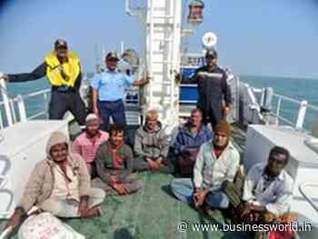 ICG rescues seven crew of IFB Dariya Khedu off Okha - BW Businessworld